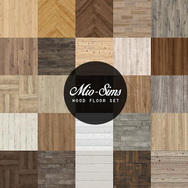 Sims 4 Wood Floor Set at MIO SIMS