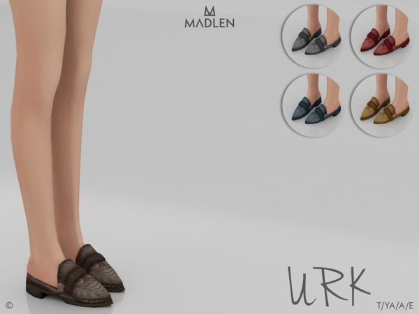 Sims 4 Madlen Urk Shoes by MJ95 at TSR