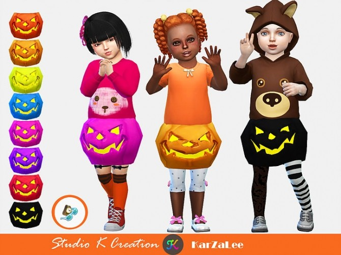 Pumpkin acc for toddler at Studio K Creation image 13312 670x502 Sims 4 Updates