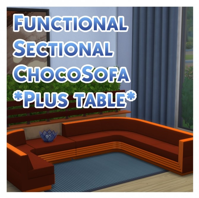TS3 to TS4 Functional Sectional ChocoSofa by Menaceman44 at Mod The Sims image 1332 670x669 Sims 4 Updates