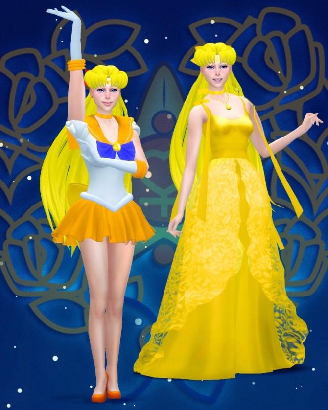 Sims 4 Sailor Venus at Katverse