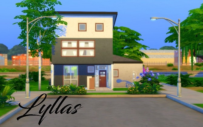 Lyllas house by Dyo at Sims 4 Fr image 1372 670x419 Sims 4 Updates