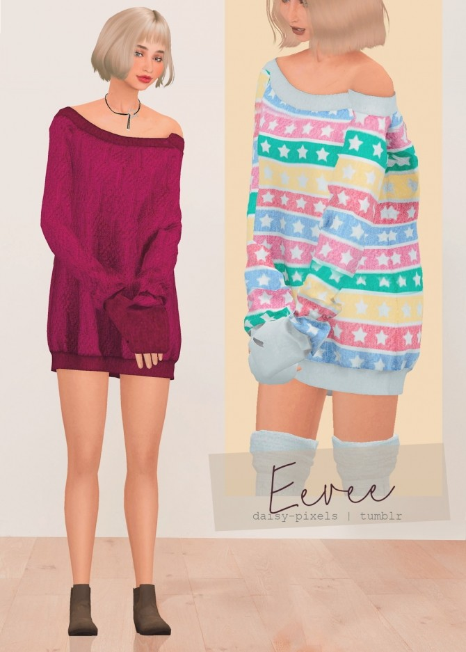 Eevee Dress at Daisy Pixels image 1393 670x937 Sims 4 Updates