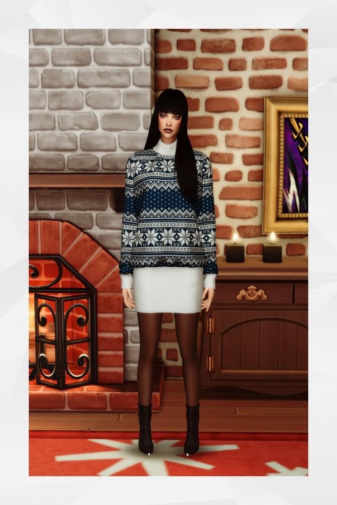 Sims 4 GIVY Dress at Gorilla