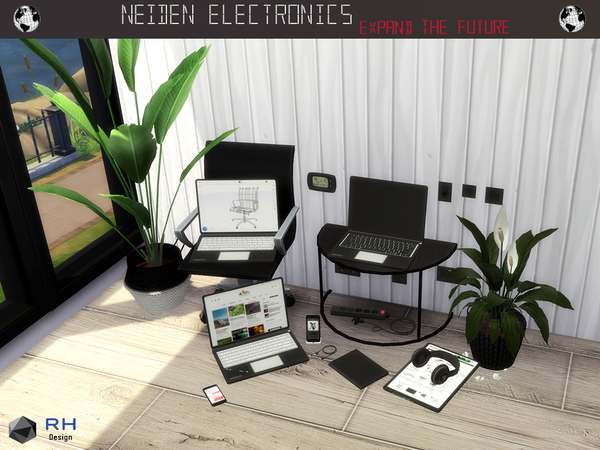 NEIDEN Electronics by RightHearted at TSR image 1416 Sims 4 Updates