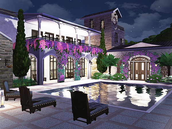 Violeta mediterranean villa by Rirann at TSR image 1418 Sims 4 Updates