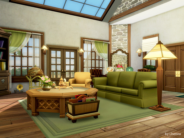 Sims 4 New Mountain house by Lhonna at TSR