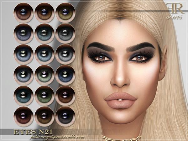 FRS Eyes N21 by FashionRoyaltySims at TSR image 1425 Sims 4 Updates
