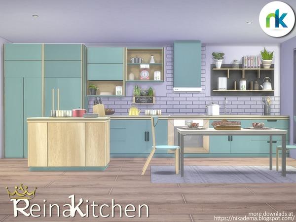 Reina Kitchen by nikadema at TSR image 1440 Sims 4 Updates