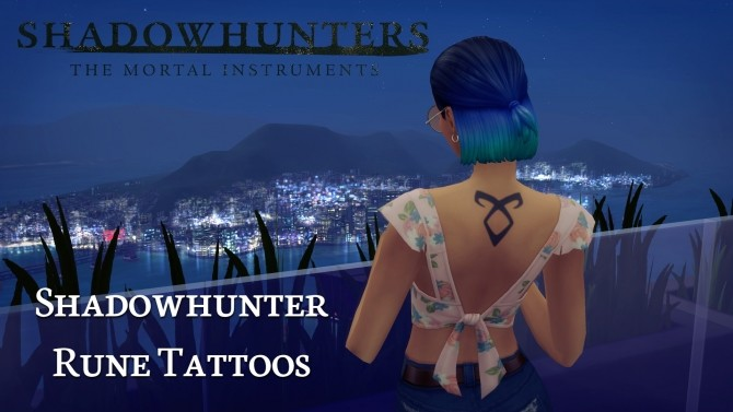 Shadowhunter Rune Tattoos by Knivanera at Mod The Sims image 1441 670x377 Sims 4 Updates