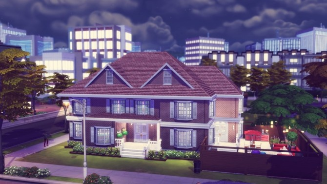 Sims 4 Beech Byway house at Simming With Mary
