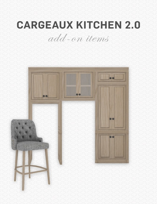 Cargeaux Kitchen 2.0 Add Ons at SimPlistic image 147 670x868 Sims 4 Updates