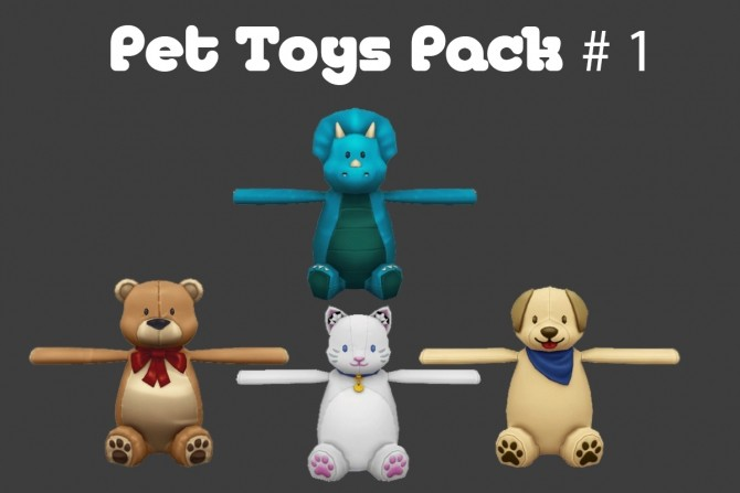 Pet Toys Pack #1 at MSQ Sims image 1492 670x447 Sims 4 Updates