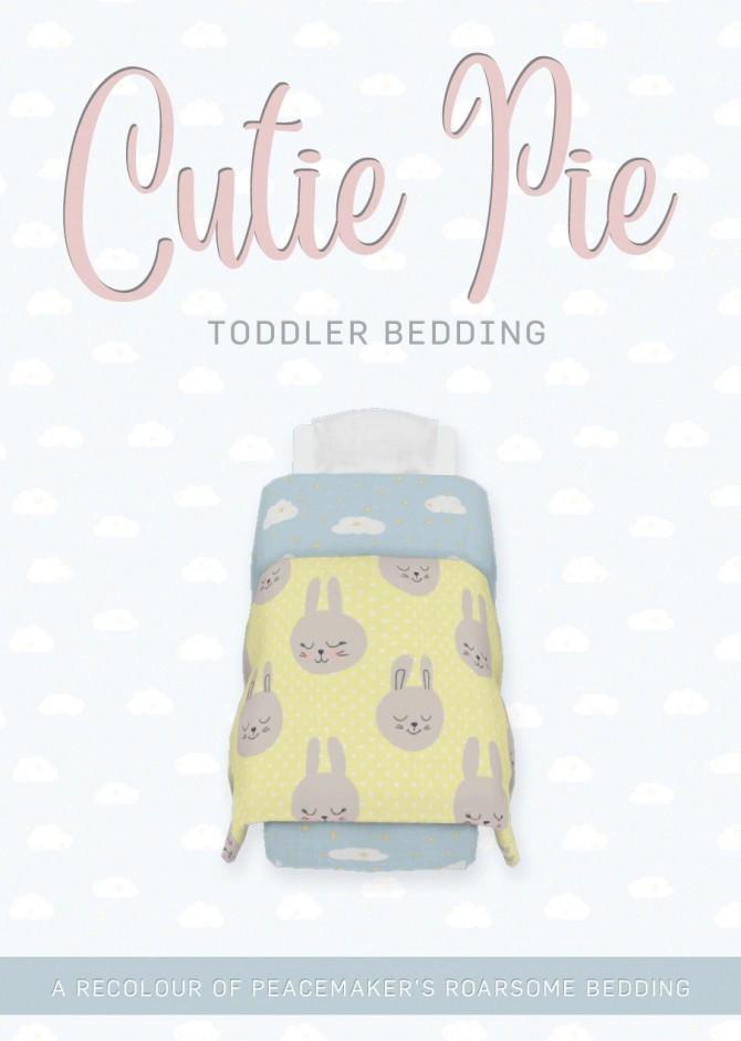 Cutie Pie Toddler Bedding at SimPlistic image 150 p1 670x942 Sims 4 Updates