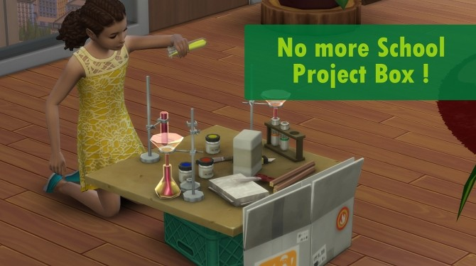 No more school project box by Nova JY at Mod The Sims image 1513 670x375 Sims 4 Updates