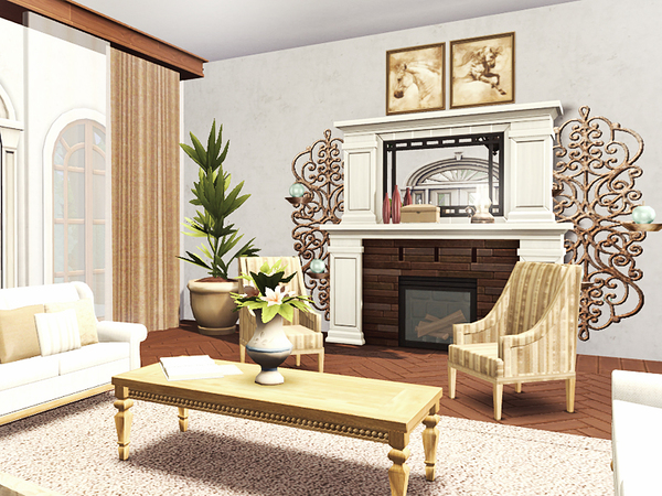 Violeta mediterranean villa by Rirann at TSR image 1518 Sims 4 Updates