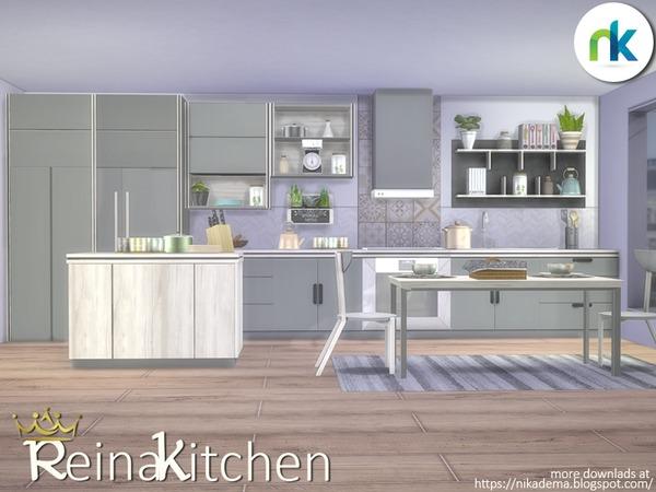Reina Kitchen by nikadema at TSR image 1540 Sims 4 Updates