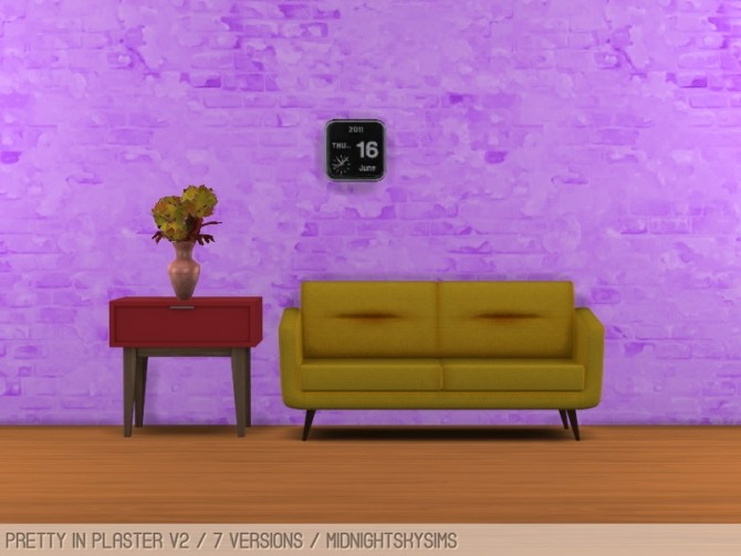 Sims 4 Pretty in plaster V2 at Midnightskysims