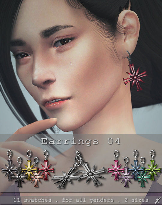Earrings 04 & 05 at Quirky Kyimu image 1592 Sims 4 Updates