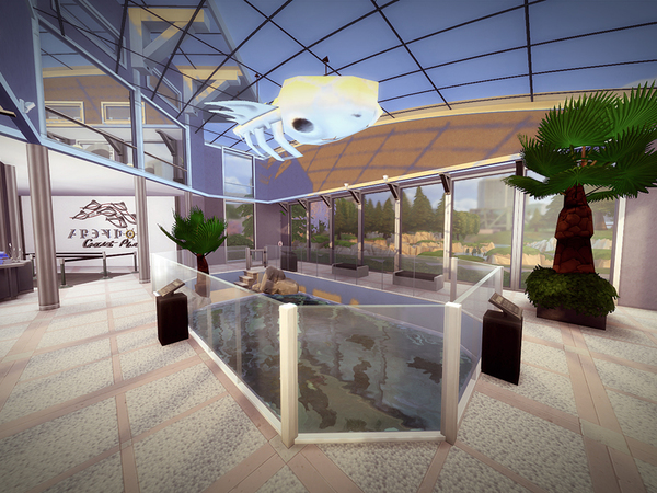 Aquarium Of Newcrest by melcastro91 at TSR image 1613 Sims 4 Updates