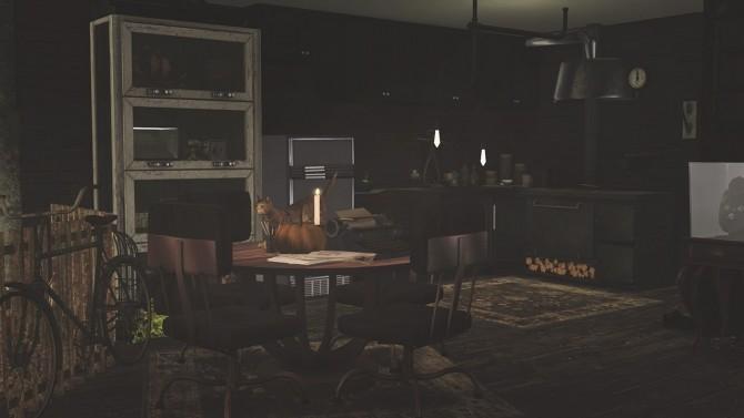 Sims 4 GREEPY APARTMENT at SoulSisterSims