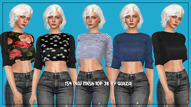 Sims 4 Top 38 at All by Glaza