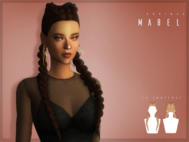 Mabel Hairstyle at Enriques4 image 1662 Sims 4 Updates