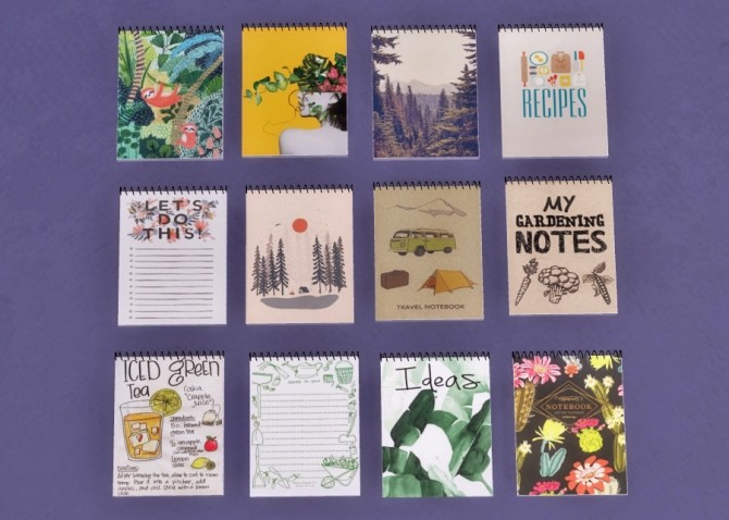 Sims 4 Notepads at Descargas Sims