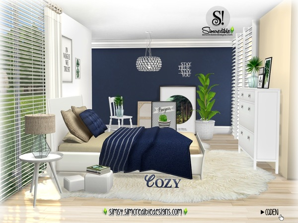 Sims 4 Caden Bedroom by SIMcredible at TSR