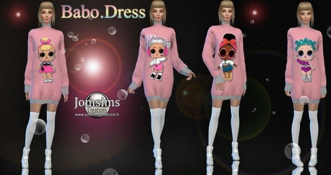 Babo dress at Jomsims Creations image 1676 670x355 Sims 4 Updates
