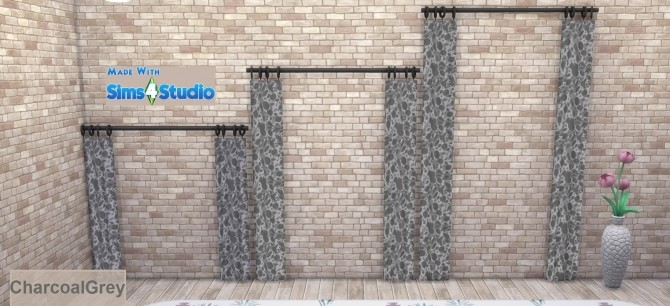 Simplistic Curtain SET Animal Skin Pattern 15 Colours by wendy35pearly at Mod The Sims image 1691 670x306 Sims 4 Updates
