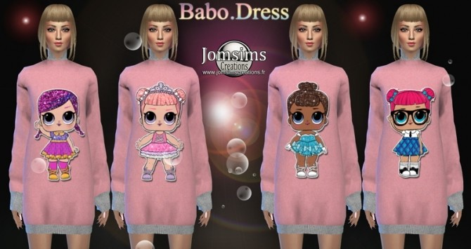 Babo dress at Jomsims Creations image 1696 670x355 Sims 4 Updates