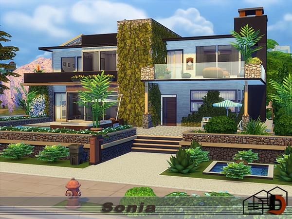 Sonia home by Danuta720 at TSR image 1717 Sims 4 Updates