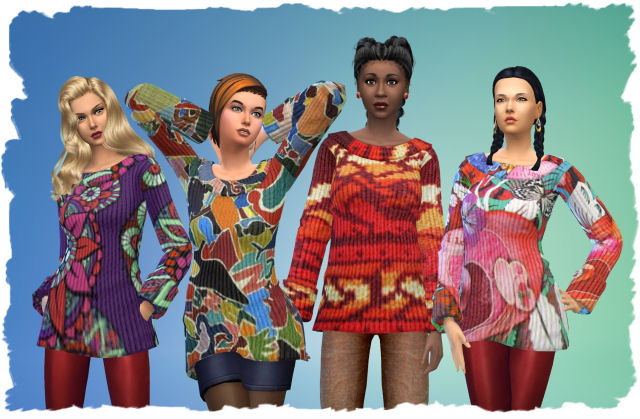 Pets Pullover by Chalipo at All 4 Sims image 1741 Sims 4 Updates