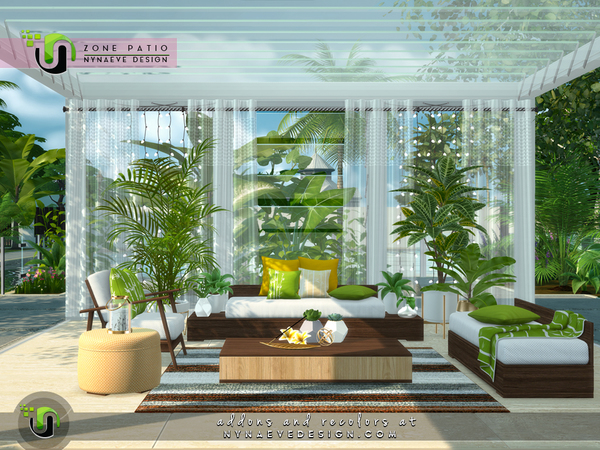 Zone Patio by NynaeveDesign at TSR image 1747 Sims 4 Updates