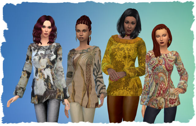Pets Pullover by Chalipo at All 4 Sims image 1761 Sims 4 Updates