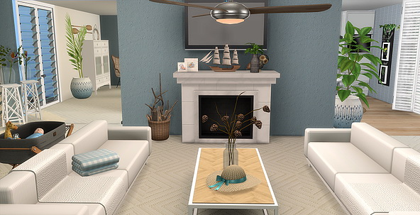 BRONTE house by Lorry at Blooming Rosy image 1762 Sims 4 Updates