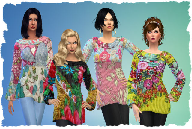 Pets Pullover by Chalipo at All 4 Sims image 1771 Sims 4 Updates