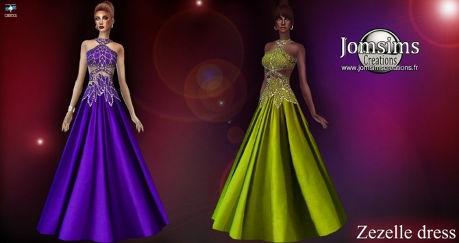 Zezelle dress at Jomsims Creations image 1793 670x355 Sims 4 Updates