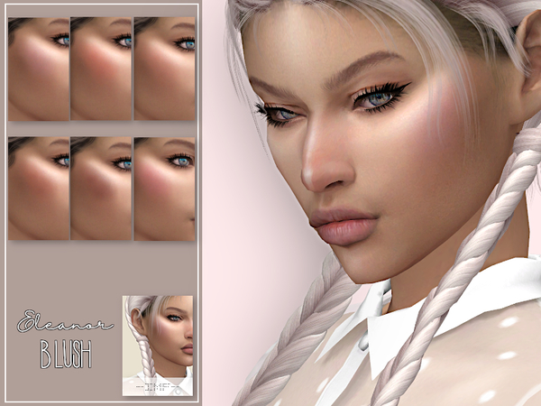 IMF Eleanor Blush N.28 by IzzieMcFire at TSR image 1812 Sims 4 Updates
