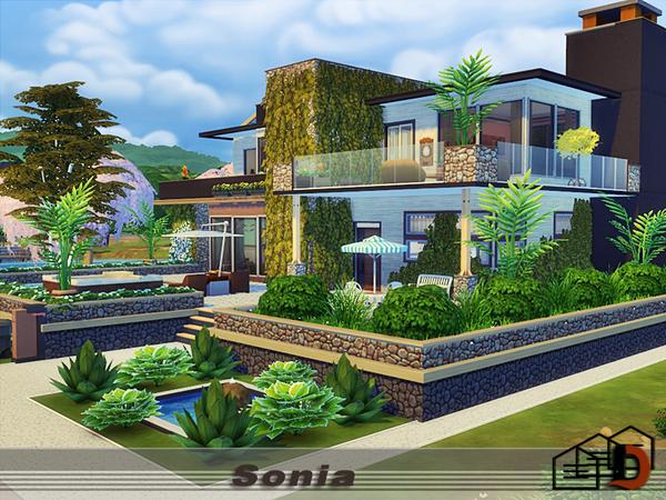Sims 4 Sonia home by Danuta720 at TSR