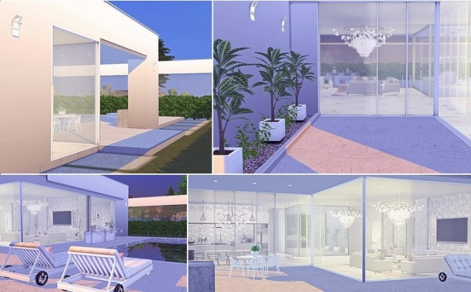 Dahlia modern house by Sooky at Blooming Rosy image 1822 670x416 Sims 4 Updates
