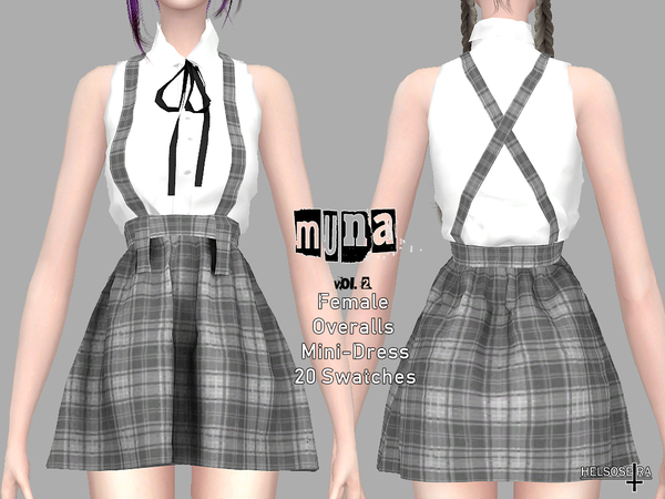 MUNA Vol2 Overalls by Helsoseira at TSR image 1825 Sims 4 Updates
