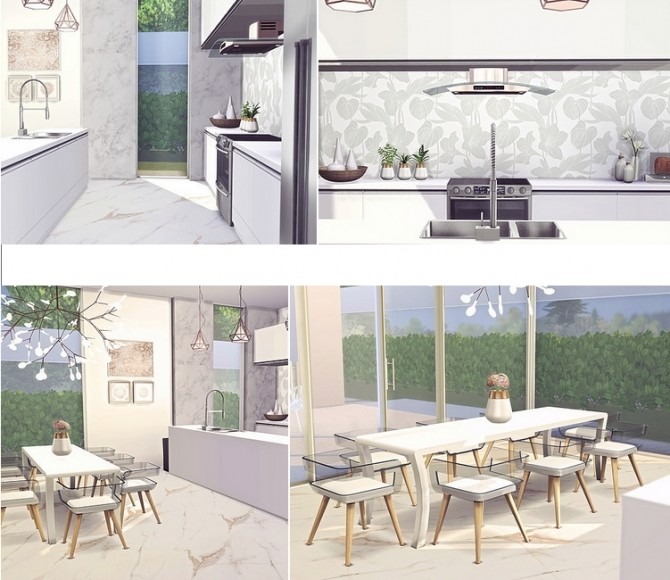 Dahlia modern house by Sooky at Blooming Rosy image 1831 670x580 Sims 4 Updates
