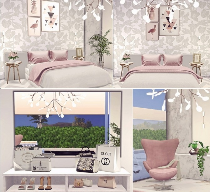 Dahlia modern house by Sooky at Blooming Rosy image 1842 670x615 Sims 4 Updates