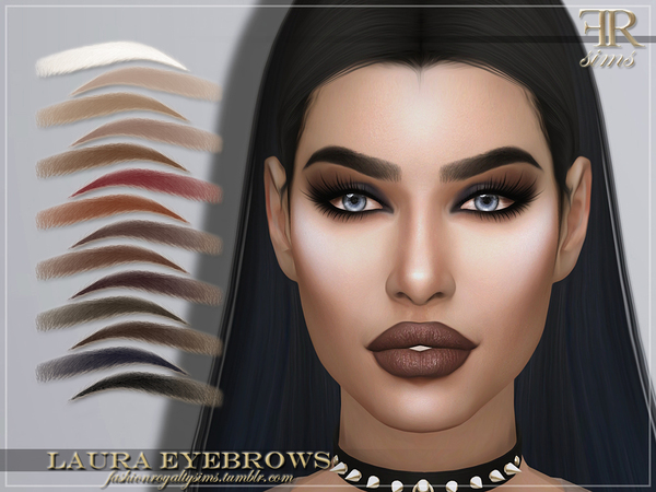 FRS Laura Eyebrows by FashionRoyaltySims at TSR image 1911 Sims 4 Updates