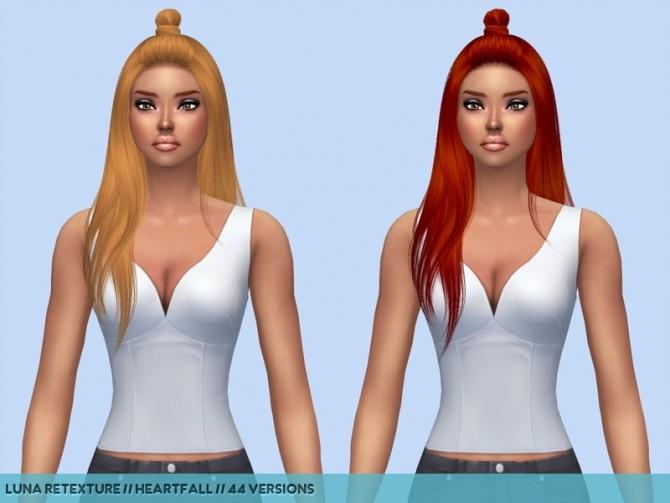 Sims 4 Nightcrawler Hair Recolors part 2 at Heartfall