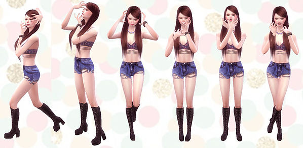 Sims 4 Combination Pose 29 at A luckyday