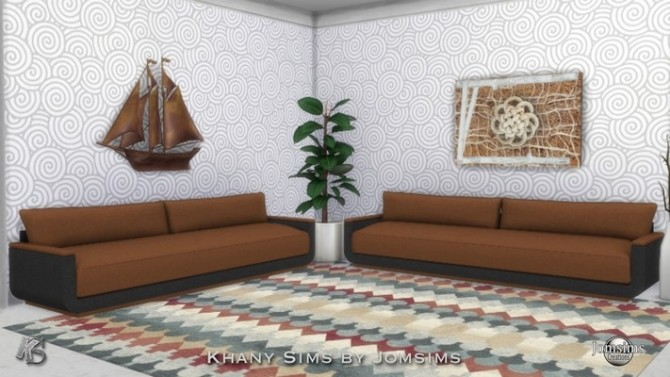 Sofa 2 by Jomsims at Khany Sims image 1971 670x377 Sims 4 Updates