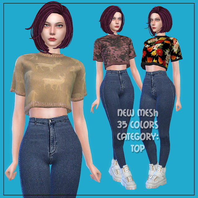Top 31 at All by Glaza image 199 Sims 4 Updates